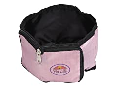 Travel Pet Bowl Wallet - Pink