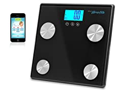 Pyle Bluetooth Digital Scale-Black