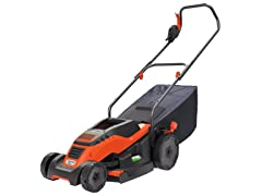 Black+Decker Corded Mower with Edge Max