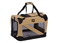Folding Pet Crate- 3 Sizes, 3 Colors