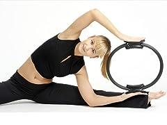 Pilates Ring 35 cm, Black