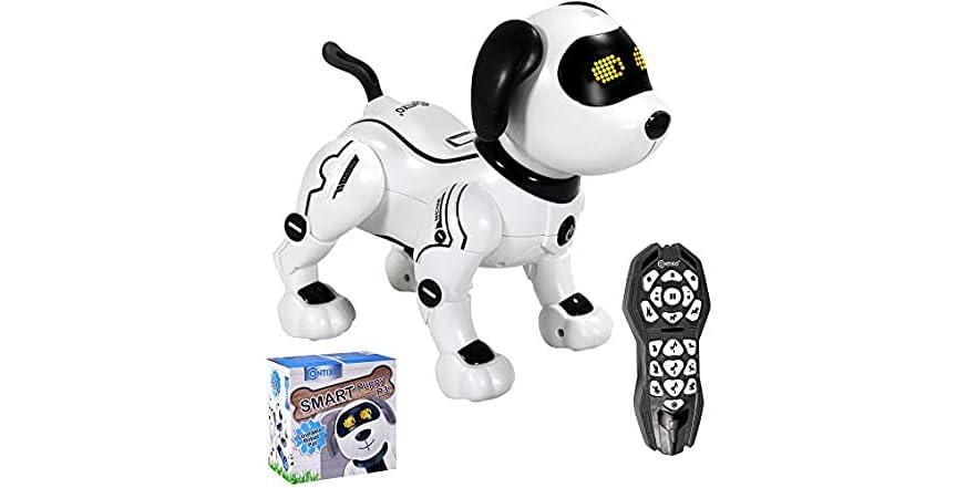 Contixo R3 Black Contixo Robot Dog (Your Choice Color)   WOOT