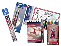 LA Angels of Anaheim MLB Team Notepad