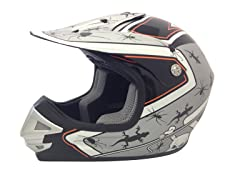 Youth Off-Road Helmet - Silver