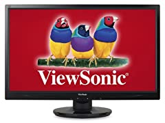 "24"" Full-HD 1080p LED Monitor"