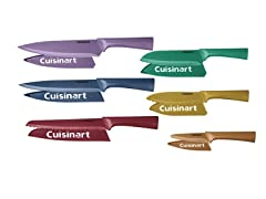Cuisinart 12-PC Non-Stick Metallic Cutlery Set