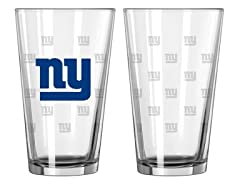 Giants Pint Glass 2-Pack
