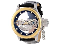 Invicta Russian Diver Bridge Skeleton Watch
