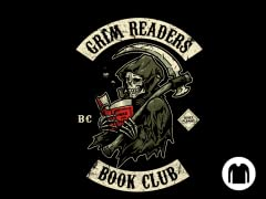 Grim Readers Book Club LS Tee