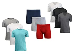 Men's Egyptian Cotton Underwear and Shirts