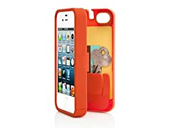 iPhone 4/4S Case w/Hinged Back - Orange