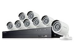 Samsung 8CH Full HD 1TB Security System