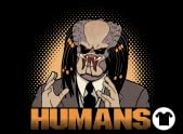 """""""Humans"""" T-Shirt"""