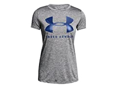 Under Armour Women's Tech Graphic Twist Short Sleeve Shirt