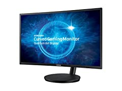 "Samsung 27"" Curved Full-HD Gaming Monitor"