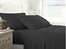 100% Microfiber 4-Piece Bed Sheet Set