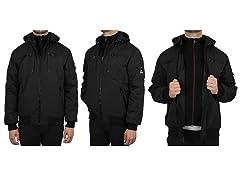 Heavyweight Tech Jacket W DetachableHood