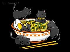Kawaii Ramen Cats