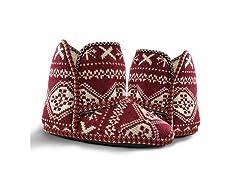 MUK LUKS ® Women's Knit Slipper, Red