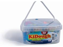 KiDough Bucket with Shapes