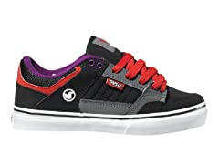 DVS Ignition CT - Blk/Pur Suede (Youth)