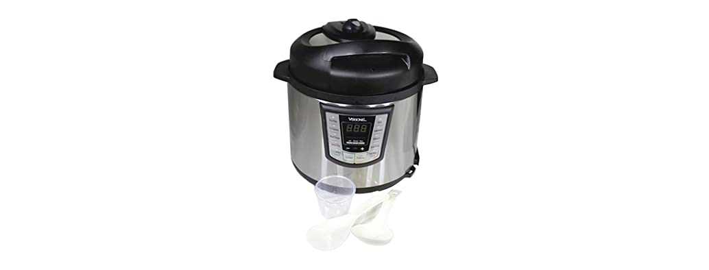 Versonel 6-Quart Electric Pressure Cooker Stainless