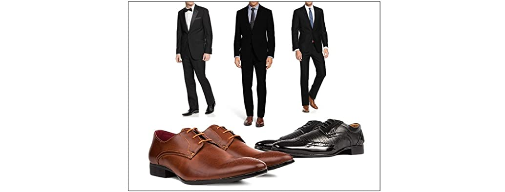 Suits, Tuxedos, and Dress Shoes