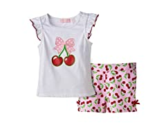 Cherry Short Set (2T-4T)