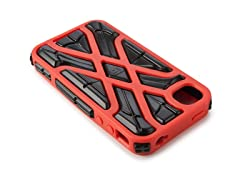 X-Protect iPhone 4/4S Case -Orange/Black