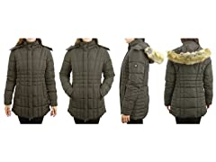 Women Heayweight Qulited Jacket