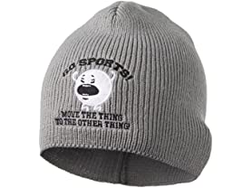 Go Sports! Embroidered Knit Hat