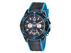 Chronograph, Blue