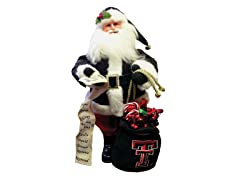 Santa Claus w/bag - Texas Tech