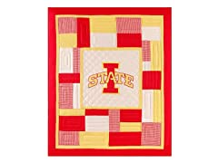 Iowa State University Quilted Throw