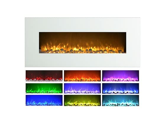 Northwest 50 Color Changing Electric Fireplace