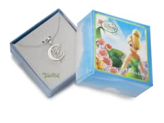 """Tinkerbell Initial Necklace - Letter """"C"""""""