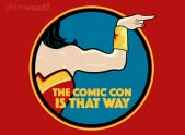 The Comic Con Is That Way