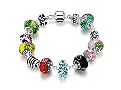 Colors Of the Rainbow Charm Bracelet
