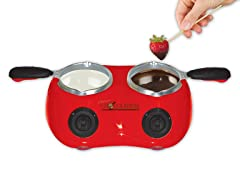Total Chef Double Fondue Maker