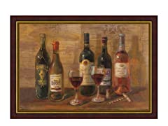 Wine Tasting Framed 28x38