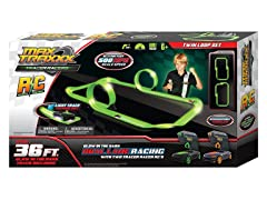 Max Traxxx Tracer Racers RC Twin Loop Track