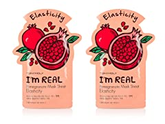I'm Real Pomegranate Mask Sheet -2 Pack