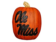 Resin Pumpkin - Univ of Mississippi
