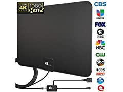1byone Digital Amplified Indoor HDTV Antenna