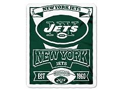New York Jets Fleece Throw
