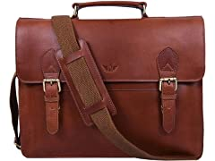 Laptop Leather Briefcase Bag