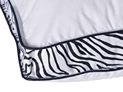 Zebra Down Alternative Pillows-King - 2pk