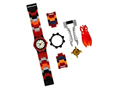 Bionicle Watch w/Building Accessory