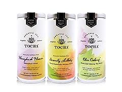 Tocha Organic Tea Trio – Floral