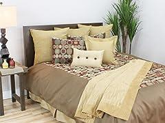 Oakley Spice 5pc Queen Comforter Set